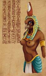 Female Horus by tite-pao