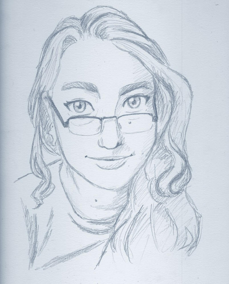 Quick Self portrait by tite-pao