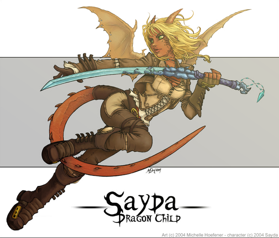 Sayda - Color by tite-pao
