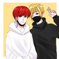 Kryan y Eun by Gabi-Sone