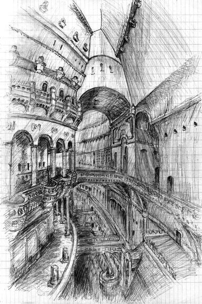Laputa: Castle in the sky by TuroRudolf