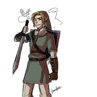 Link sketch by AtomicRedBoots