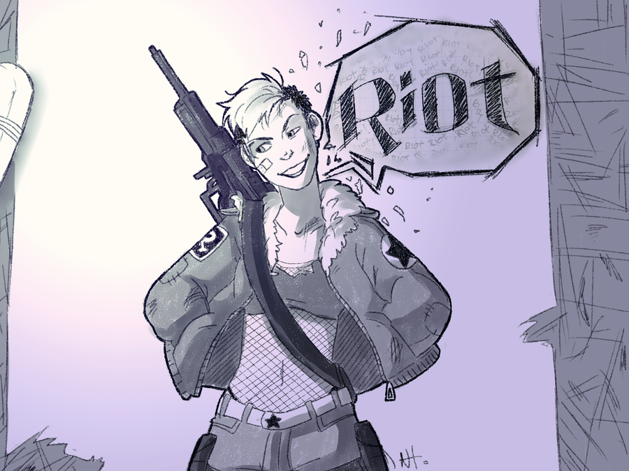Riot 2 by AtomicRedBoots