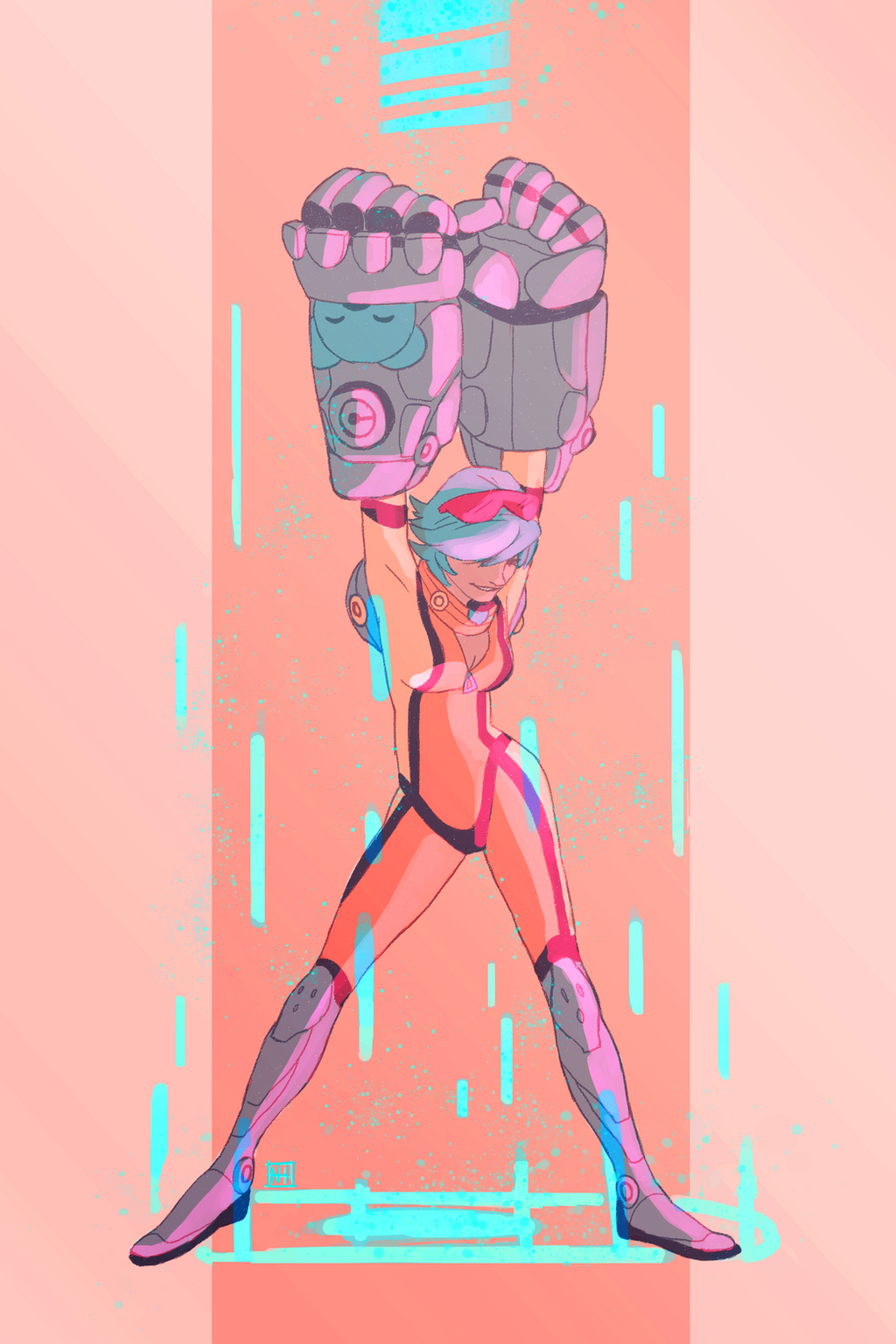 Neon Strike by AtomicRedBoots on DeviantArt