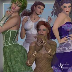 OldFashionedWoman textures by FantasiesRealmMarket