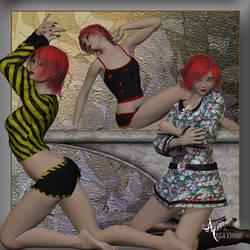 Farconville Model Poses by FantasiesRealmMarket
