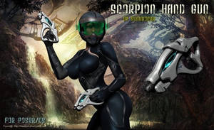 Scorpion Hand Gun, by Summoner (freebie)