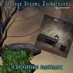 Strange Dreams backgrounds, by Anima Gemini (free)