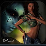 Babs for V4, by RenderCandy