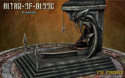 Altar of Blood, by Summoner (freebie)