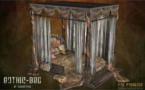 Gothic Bed, by Summoner (freebie)