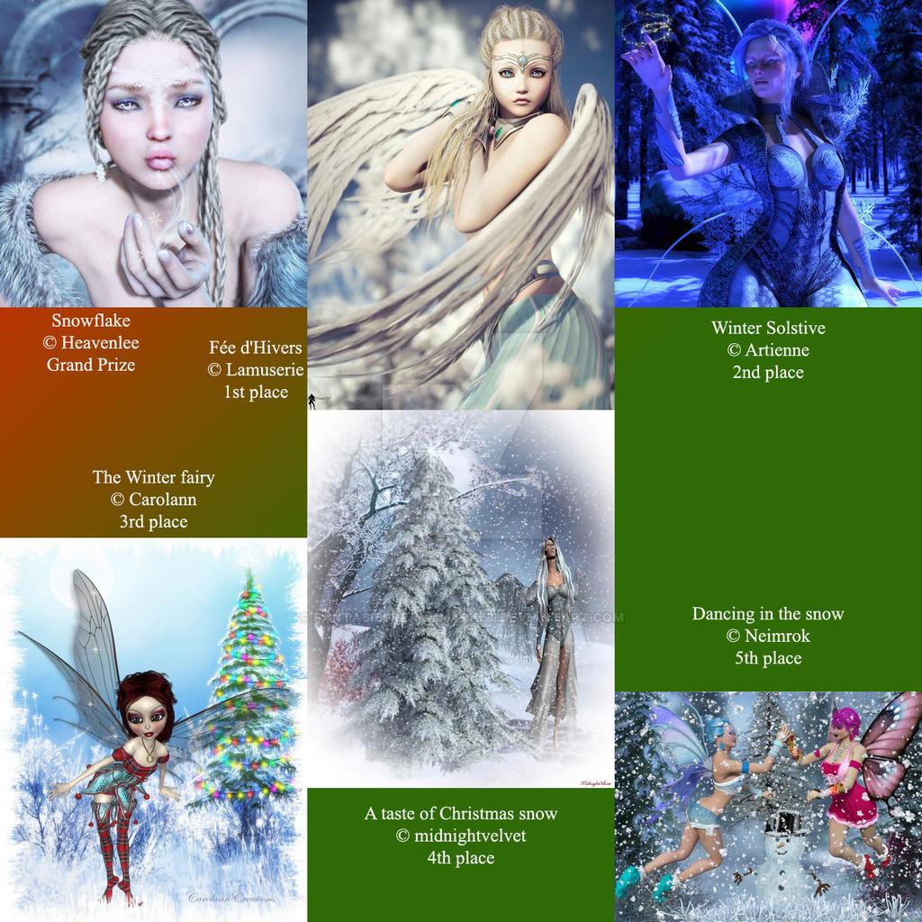 December winners 2 by FantasiesRealmMarket