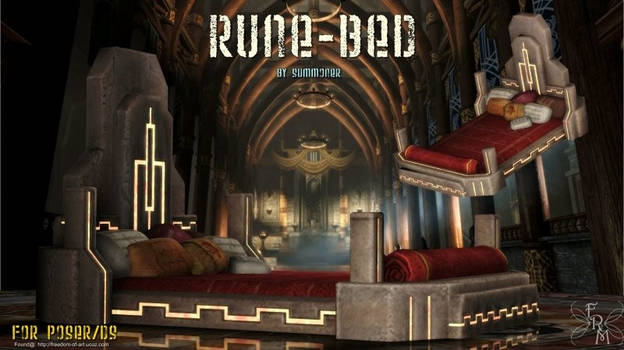 Rune Bed,  by Summoner (freebie)
