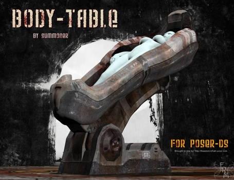 Body Table, by Summoner (freebie)
