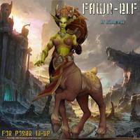 Fawn Elf, by Summoner by FantasiesRealmMarket