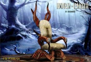 Horn Chair (freebie) by Summoner by FantasiesRealmMarket