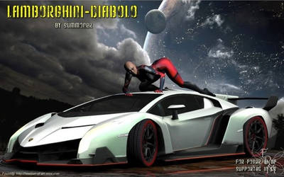 Lamborghini Diablo (freebie) by Summoner by FantasiesRealmMarket