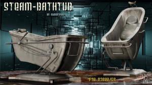 Steam Bath Tub (freebie) by Summoner by FantasiesRealmMarket