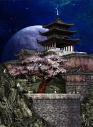 Cherry Tree Garden (freebie) by Summoner by FantasiesRealmMarket