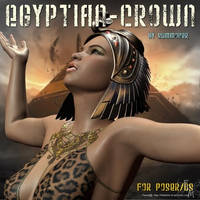 Egyptian crown, by Summoner by FantasiesRealmMarket