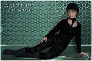 Neuro outfit for Dawn (Poser), by Prae by FantasiesRealmMarket