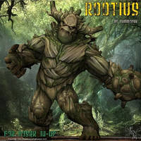 Rootius, by Summoner by FantasiesRealmMarket