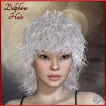 Delphine Hair V4 M4, by Prae