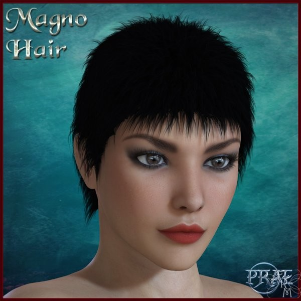 Magno hair V4M4H4A4PaulinePaul, by Prae by FantasiesRealmMarket