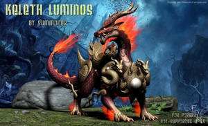 Keleth Luminos, by Summoner (freebie)