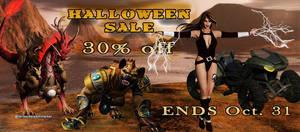 October Banner (4) by FantasiesRealmMarket