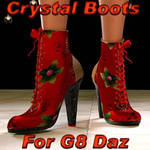 Crystal Boots G8F, by Prae (freebie) by FantasiesRealmMarket