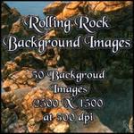 Rolling Rocks Backgrounds, by Napalmarsenal by FantasiesRealmMarket