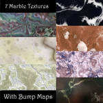 Stone and Marble Seamless Tiles, by Manic3d