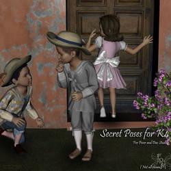 Secret poses for K4, by Aelin (exclusive) by FantasiesRealmMarket