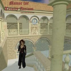 Manor for Trinity Atrium, by Aelin (exclusive) by FantasiesRealmMarket