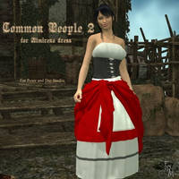 Common People 2 for Almirena Dress, by Aelin (exc) by FantasiesRealmMarket