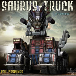 Saurus Truck (by Summoner) by FantasiesRealmMarket