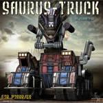 Saurus Truck (by Summoner) by FantasiesRealmMarket