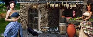 May Banner (4) by FantasiesRealmMarket