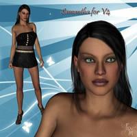 Samantha V4, by Manic3d (exclusive) by FantasiesRealmMarket