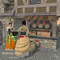 Shops for Medieval Shops, by Aelin (exclusive) by FantasiesRealmMarket