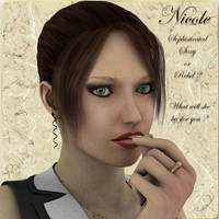 Nicole V4, by Manic3d (exclusive) by FantasiesRealmMarket