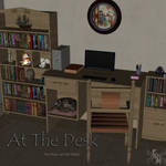 At The Desk, by Aelin (exclusive)