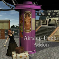 Airship Docks Addon, by Aelin