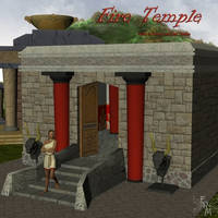 Fire Temple, by Aelin (exclusive)