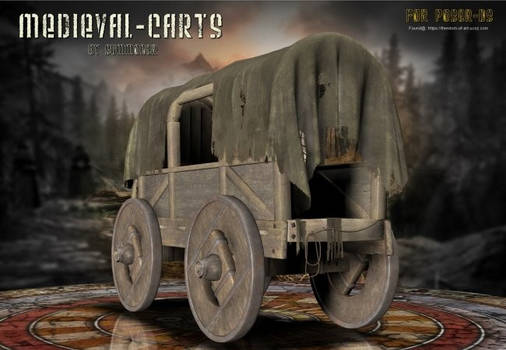 Medieval Carts, by Summoner