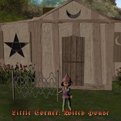 Little Corner: Witch House, by Aelin (exclusive)