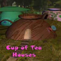 Cup of Tea Hosues, by Aelin (exclusive)
