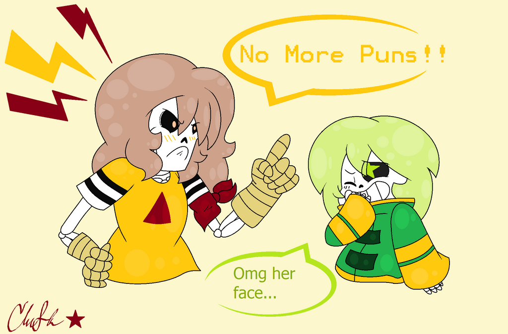 enough puns for you dear sister by clairbanthedoll on deviantart