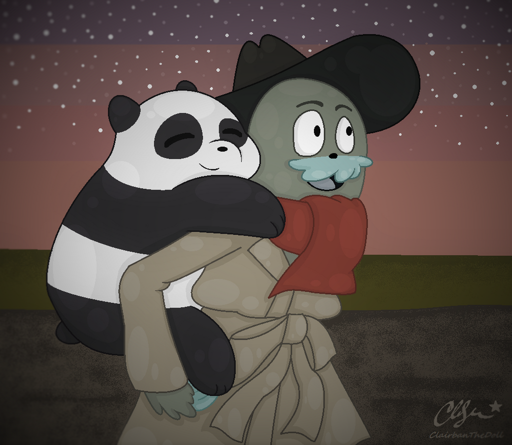 We Bare Bears Panda S Room